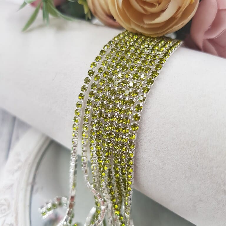Same color cup chain, Olive ss6, СС81