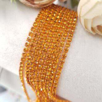 Same color cup chain, Orange ss6, СС80