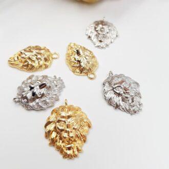 Brass-Pendants-Lion-Rhoudium-Gold-P003-P004 (2)