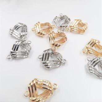 Brass-Pendants-Triangle-Trim-Gold-Rhoudium-