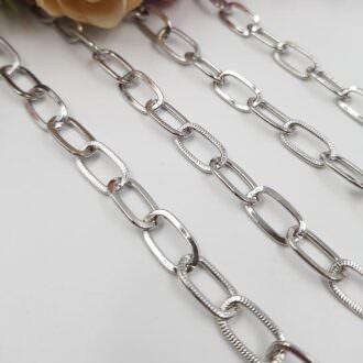 Anchor Chain Rhodium Plated 0.6 cm AC06-R