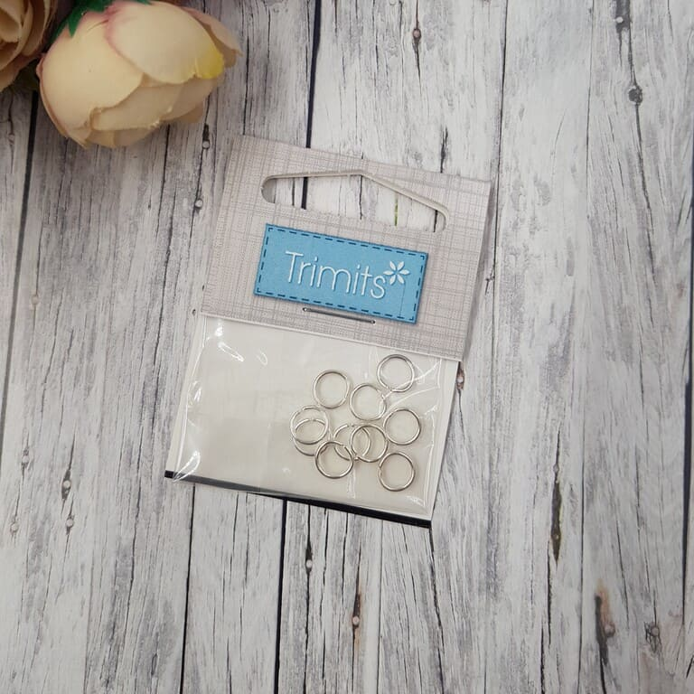 TDF14 Deluxe Jump Rings Silver Plated 7mm 3 Packs of 20