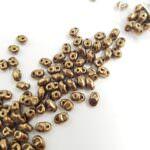 Бусины Matubo MiniDuo Beads, Бронзовый, 4х2.5мм, PB307-0204-B23980